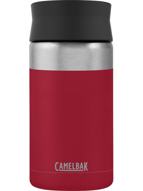 CamelBak Hot Cap Vacuum Insulated Stainless Bottle 400ml cardinal